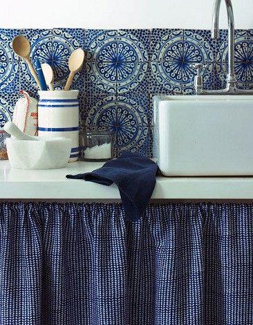 rustic kitchen splashback