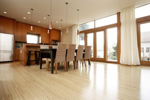 bamboo kitchen floor