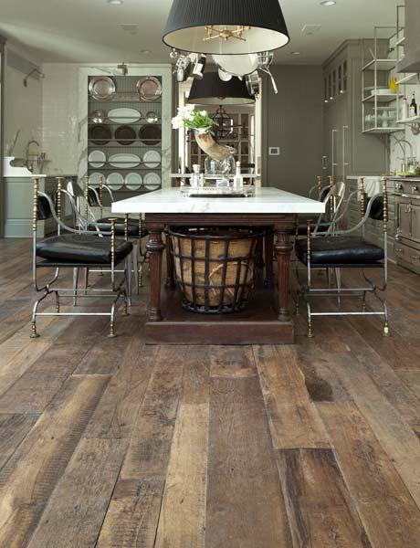 Kitchen Floors- hardwood