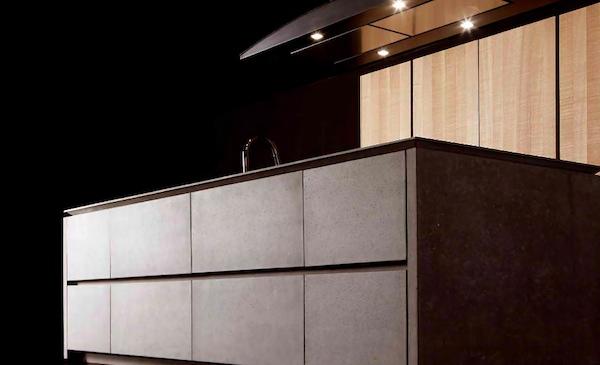 Kitchen Trends concrete doors
