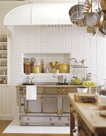french kitchen oven and utensils