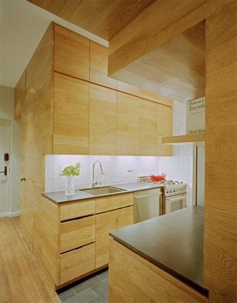 small kitchen- galley