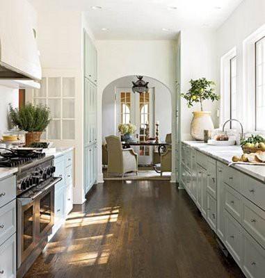 galley kitchen shaker