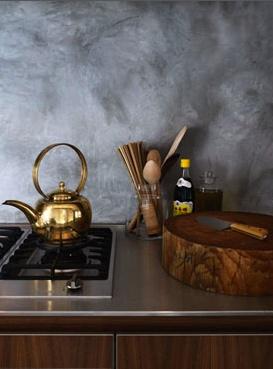 gold kitchen tea pot