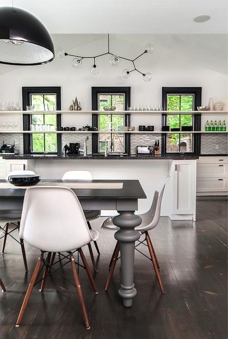 kitchen lighting feature