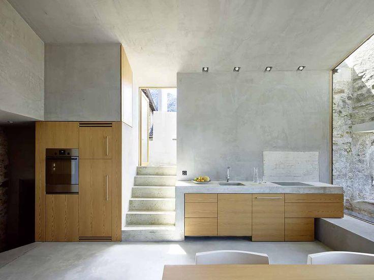 concrete kitchen wespi de mourn