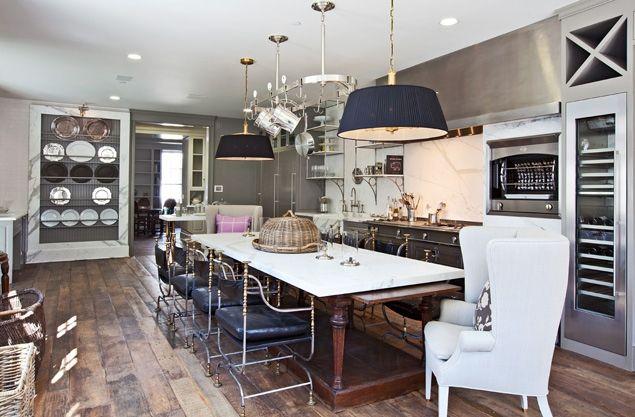 industrial kitchen of Gwyneth Paltrow