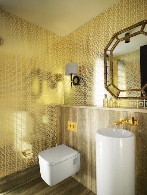 gold bathroom by greg natal