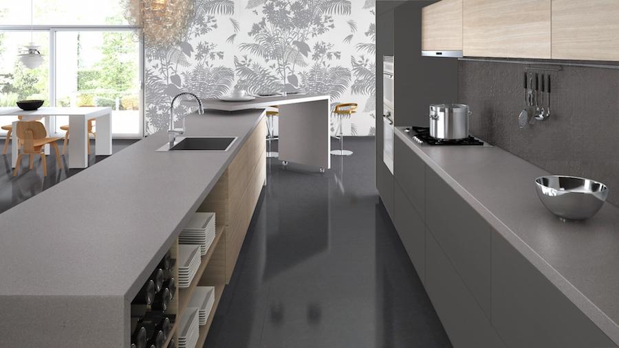 2015 kitchen design trend blue tea