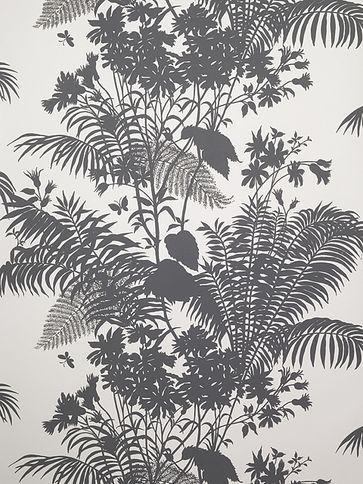 Florence Broadhurst Wallpaper 'Shadow Floral FBW-RF25'