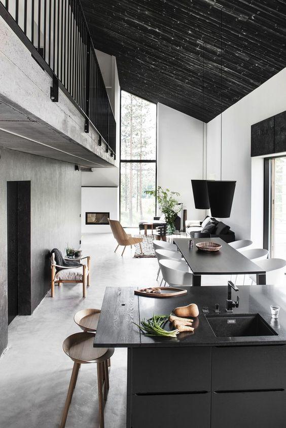 kitchen space danish style