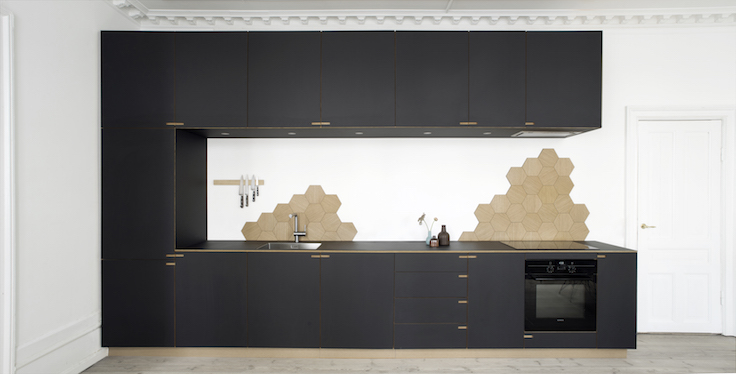 black kitchen designed by Nicolaj Bo | Denmark