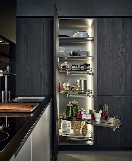 leman unit in contemporary kitchen