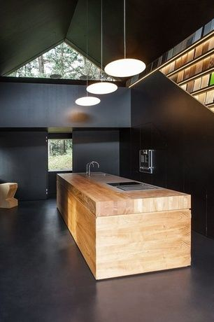 timber kitchen island