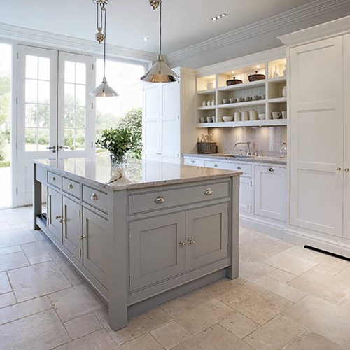 Pastel Hamptons Kitchen by Tom Howley