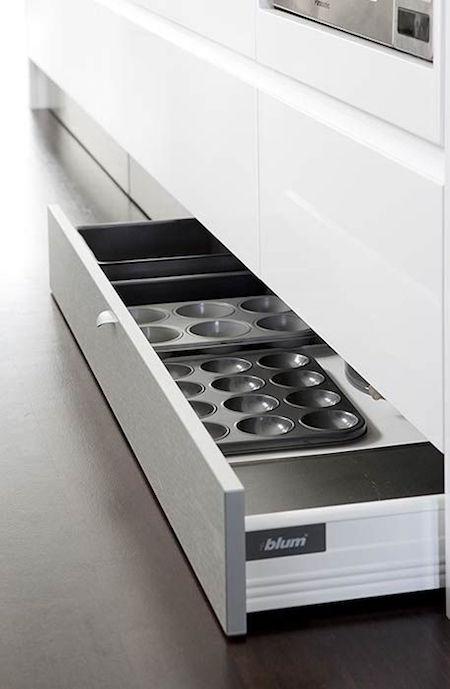 Blum Kickboard Storage | Small Kitchen Solutions