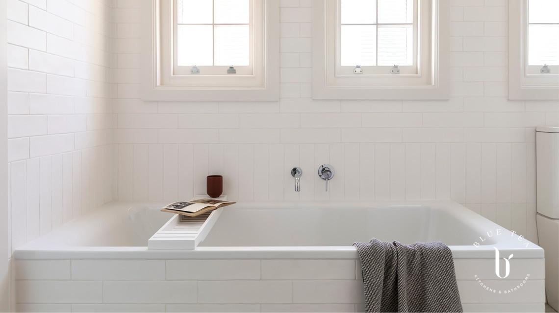 Bathroom tile details
