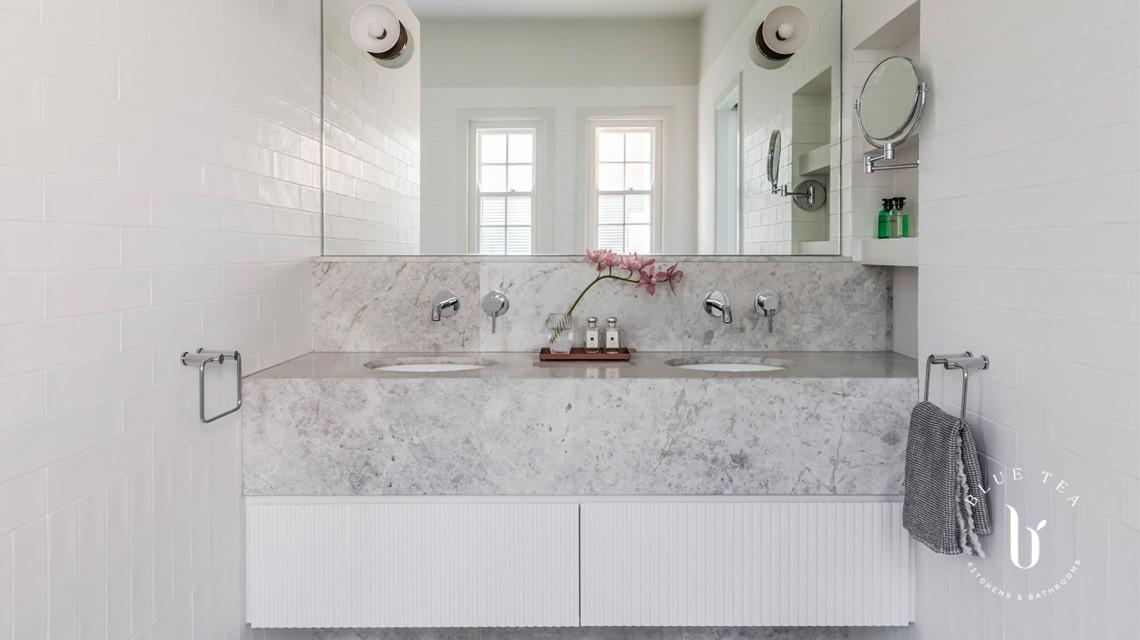 Marble vanity design
