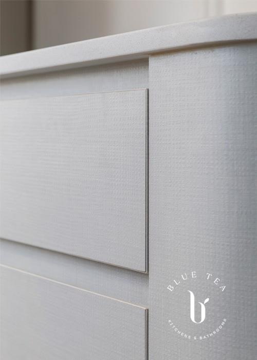 Textured kitchen cabinetry | Bronte Kitchen