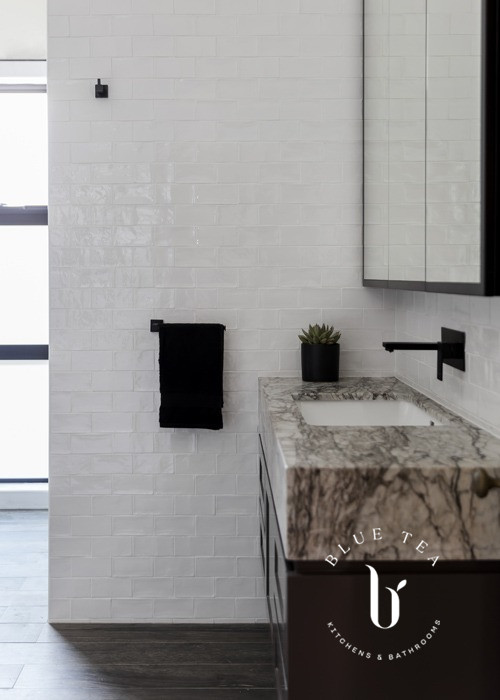 bathroom vanity with undermount sink in Drummoyne Sydney