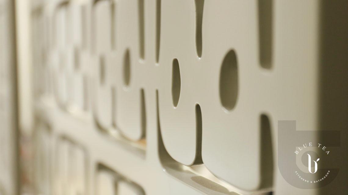 Detailed photo of Custom designed sliding doors in Hunters Hill Sydney.