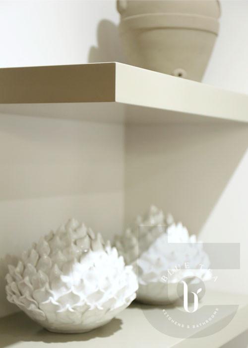 open shelves in kitchen design, Hunters Hill, Sydney.