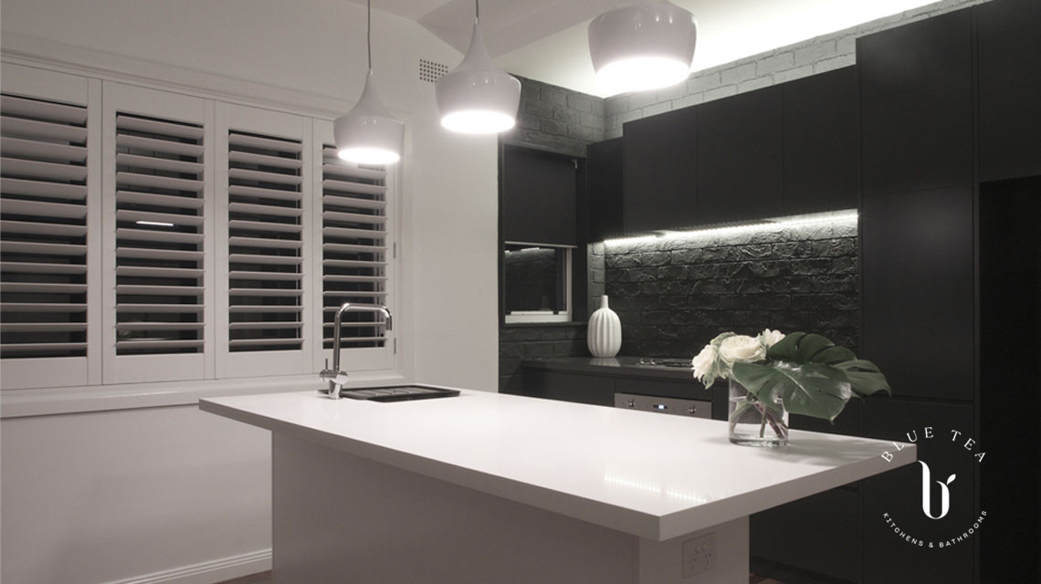 kitchen at potts point