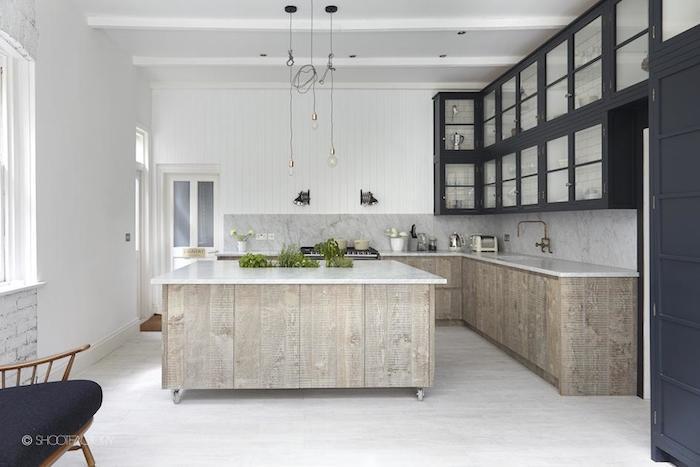 Industrial Rustic Kitchen