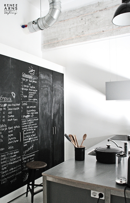 kitchen blackboard ideas