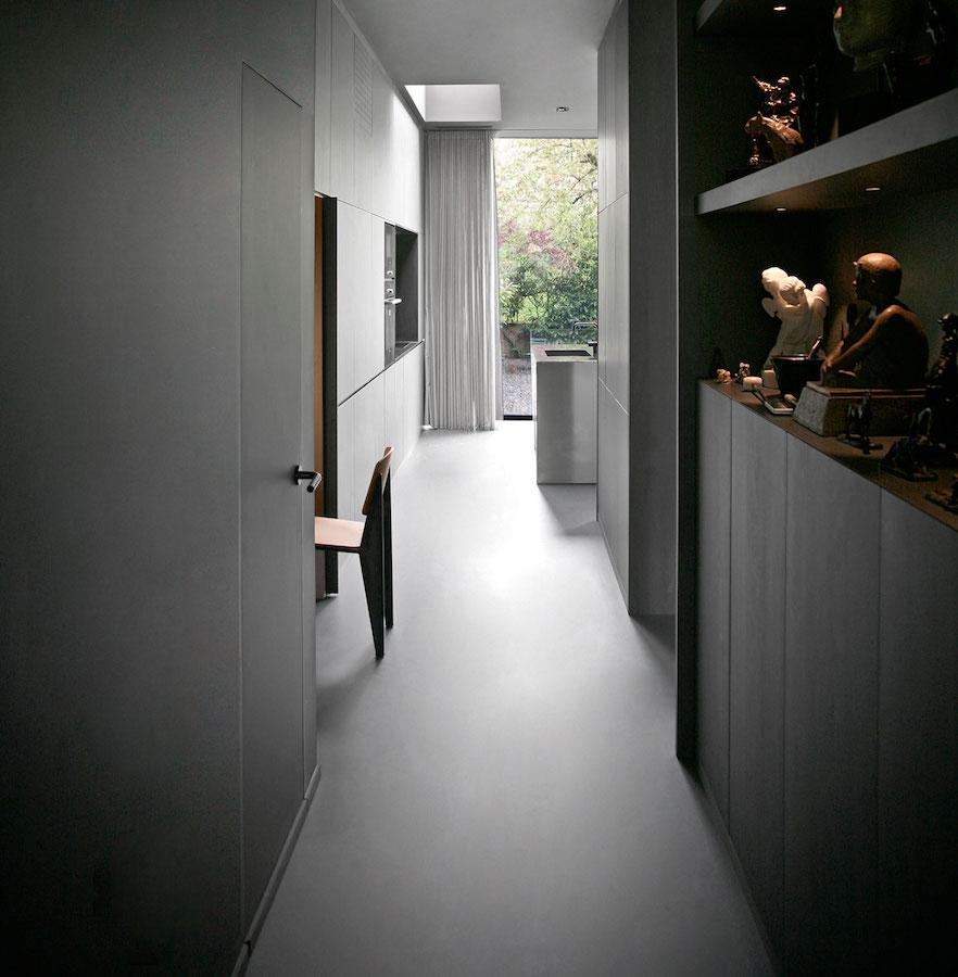 Rue Du Japon kitchen galley kitchen with island RMGB
