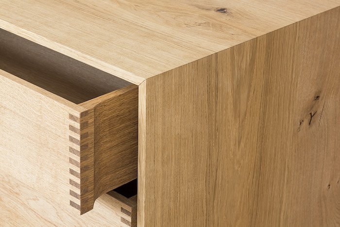 Modern danish kitchen drawer| GARDE HVALSØE