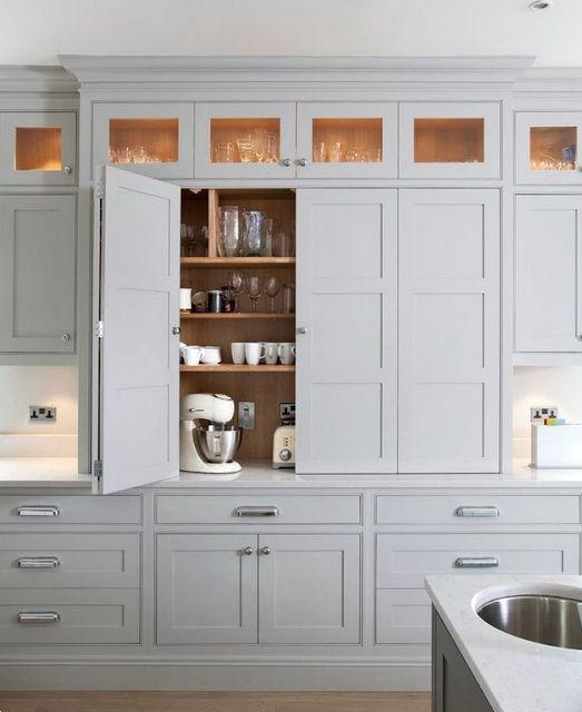 benchtop bifold pantry doors