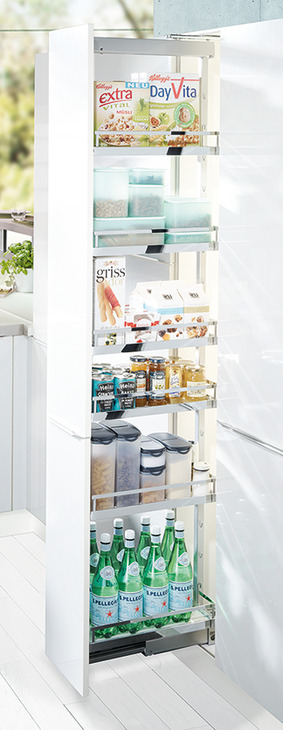 hafele pull out narrow pantry