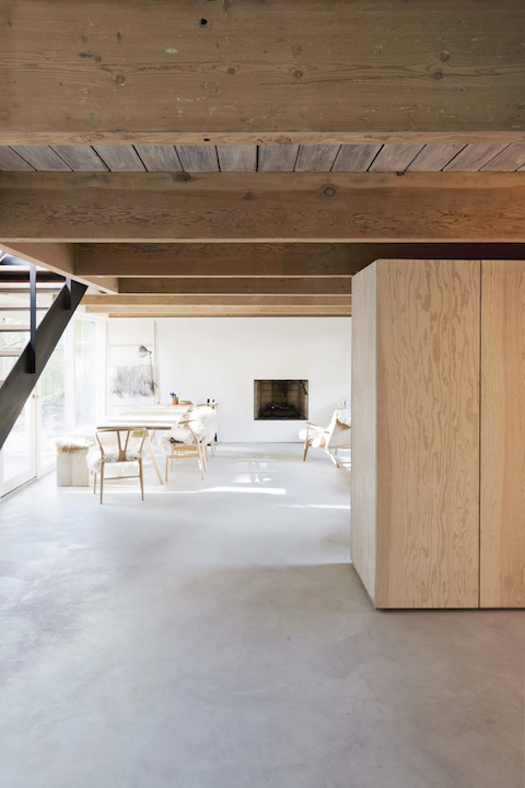 Scott and Scott architects| living space with natural materials