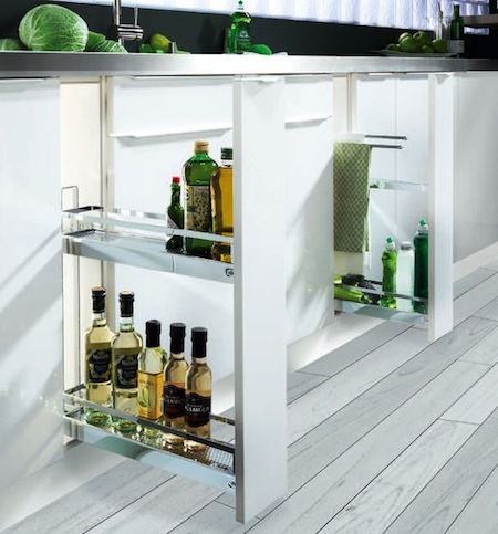 Blum Oil Drawers for the Kitchen | Small kitchen ideas