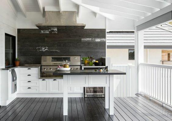 outdoor queenslander kitchen bbq