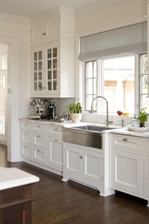 White shaker doors- Hamptons kitchen