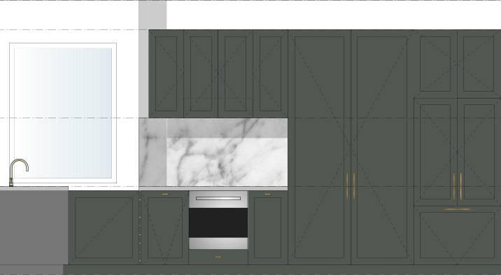 Kitchen Elevation Color