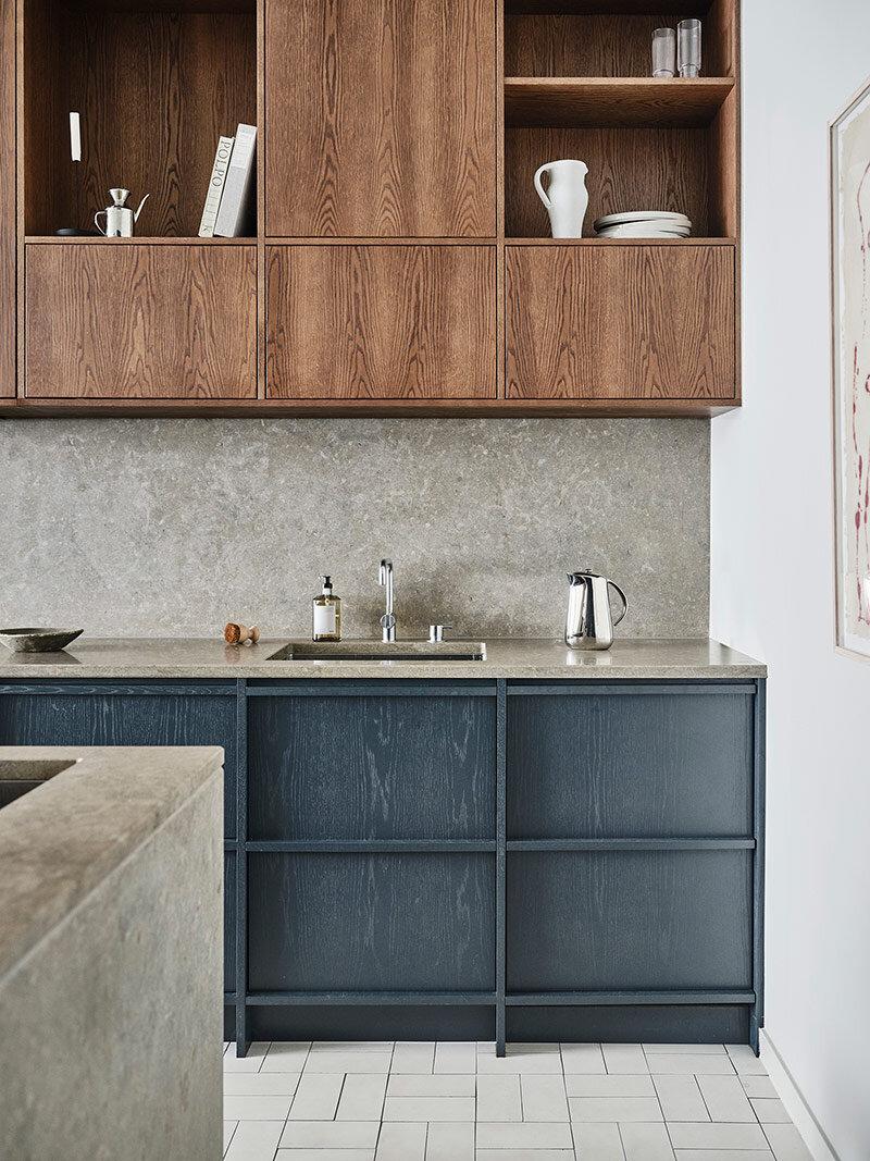 Nordiska Kök oak timber kitchen