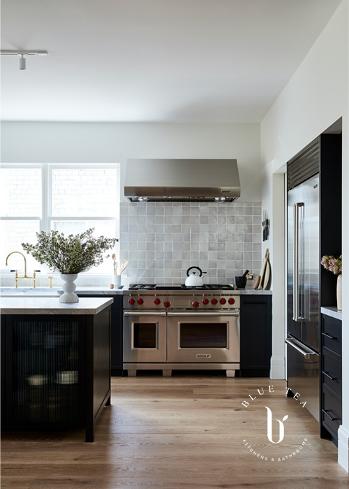 Summer Hill Kitchen Design with Wolf Oven and Rangehood