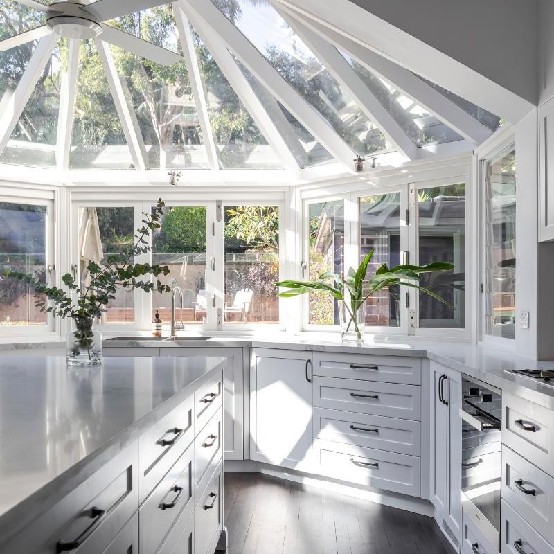 Kitchen renovation example Vaucluse