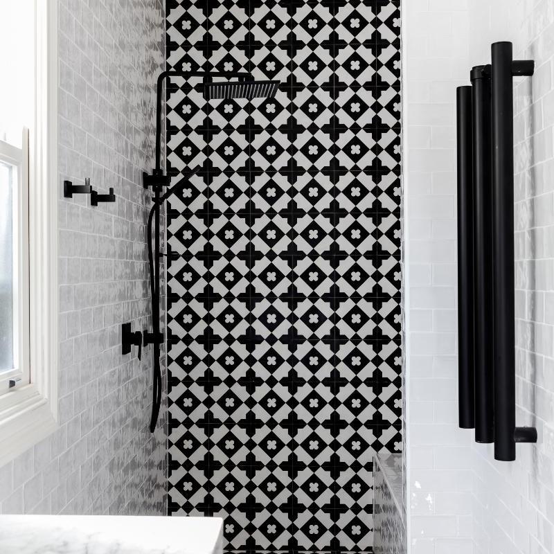New contemporary Bathroom renovation in Drummoyne, Sydney Australia