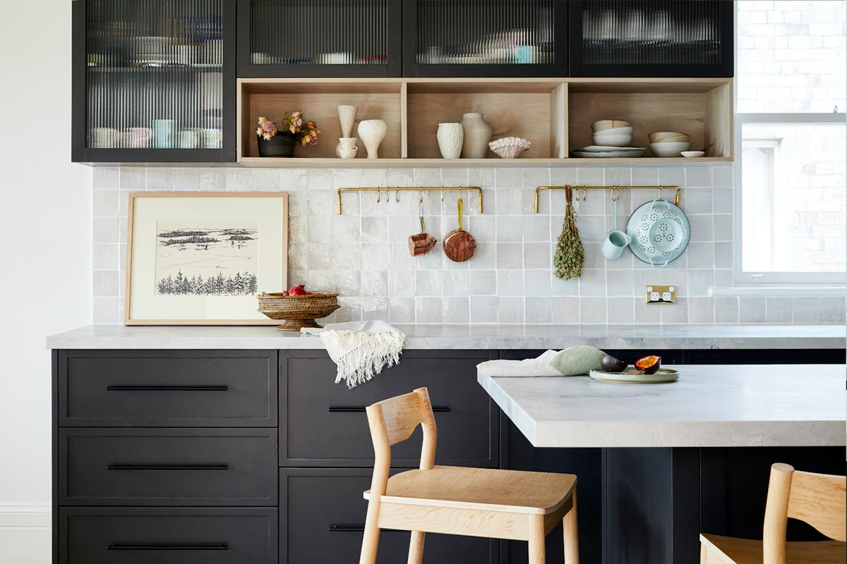 Kitchen Designers vision realised in this summer hill Kitchen