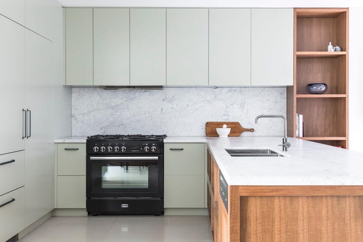 Sydney Kitchen designers Blue Tea contemporary renovation